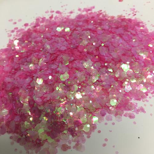 Bubble Gum Pop - Glitter - Chunky Mix