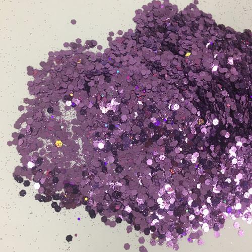 Purple Majesty - Glitter - Chunky Mix