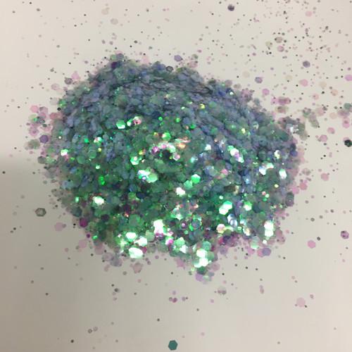 Sea Weed Bash - Glitter - Chunky Mix