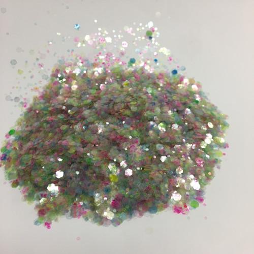 Unicorn Hair - Glitter - Chunky Mix