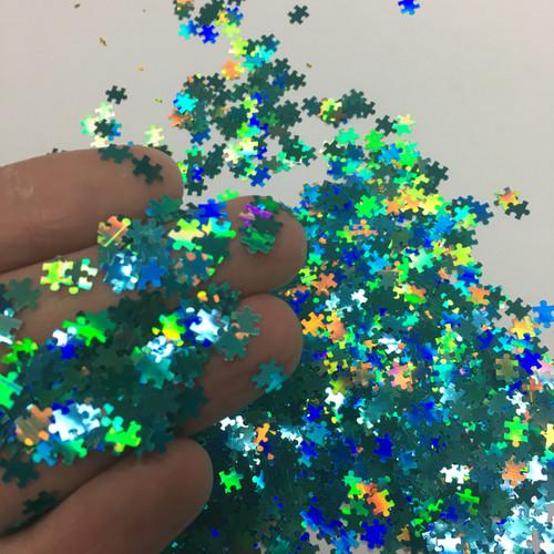 Puzzle Pieces - Blue - Shape