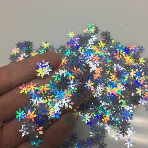 Snowflakes - Glitter Shape