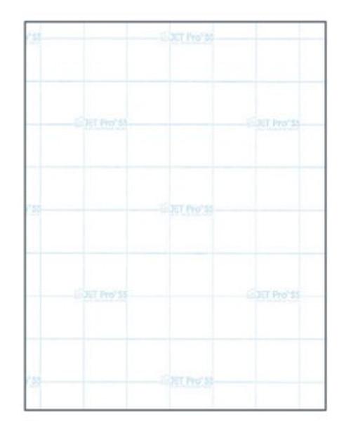 "JET-PRO SOFT STRETCH HEAT TRANSFER PAPER 8.5""X 11"" SHEET (LIGHT FABRICS) 10 pack"