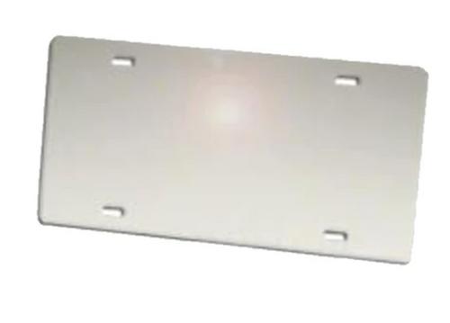 Mirror Silver LICENSE PLATE