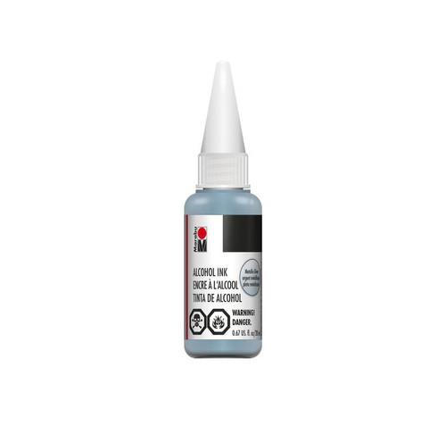 Metallic-Silver - 20ml  - Alcohol Ink