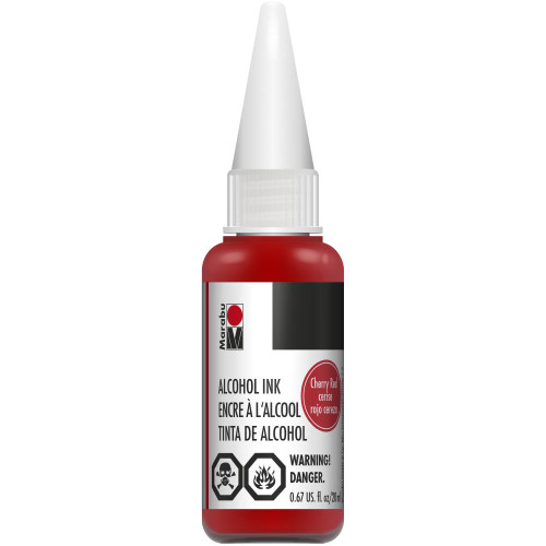 Cherry Red - 20ml  - Alcohol Ink