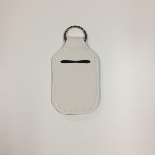 Sanitizer Key chain Holder - White - Single