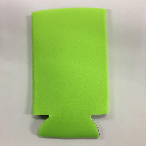 Neon Green Slim - Can Cooler