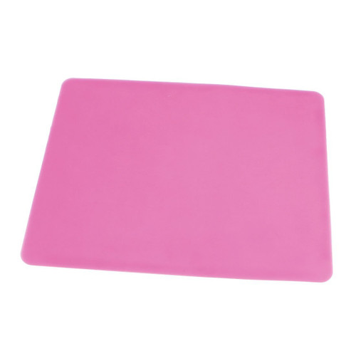 """Silicon Mat - 11"""" x 15"""" - Pink"""