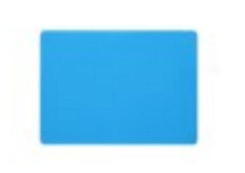 "Silicon Mat - 11"" x 15"" - Blue"