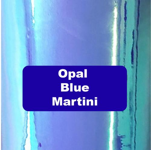 "Opal Blue Martini - Permanent Adhesive Vinyl - 12"" x 12"""