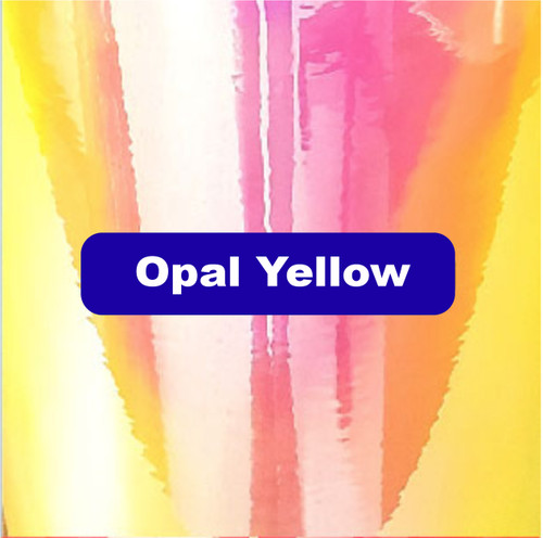 "Opal Strawberry Banana - Permanent Adhesive Vinyl - 12"" x 12"""