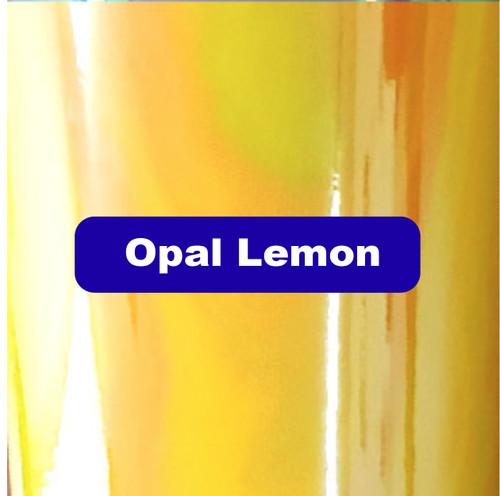 "Opal Lemon - Permanent Adhesive Vinyl - 12"" x 12"""