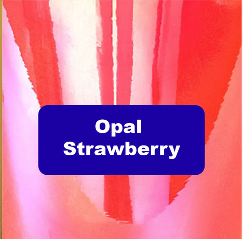 "Opal Strawberry - Permanent Adhesive Vinyl - 12"" x 12"""