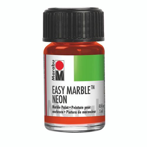 Neon Orange - 15ml - Easy Marble