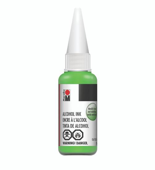 Metallic Green - 20ml - Alcohol Ink