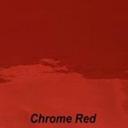 "Chrome Red Permanent Vinyl - 12"" x 10' Roll"