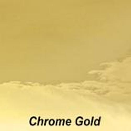 "Chrome Gold Permanent Vinyl - 12"" x 10' Roll"
