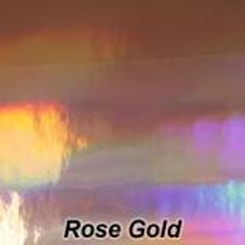 "StarCraft - Spectrum - Rose Gold - Permanent Vinyl - 12"" x 12"" Sheet"