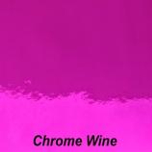 "Chrome Wine Permanent Vinyl - 12"" x 10' Roll"