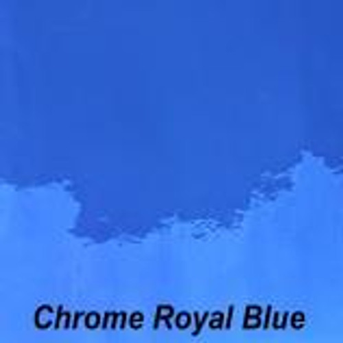 "Chrome Royal Blue Permanent Vinyl - 12"" x 10' Roll"