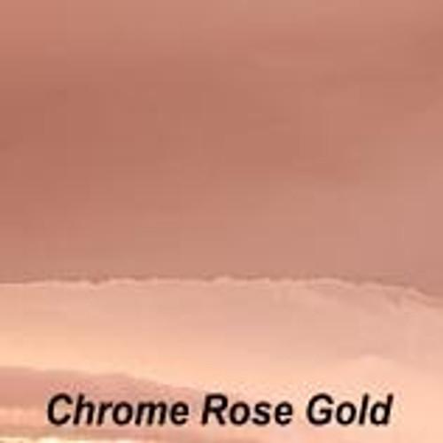 "Chrome Rose Gold Permanent Vinyl - 12"" x 10' Roll"