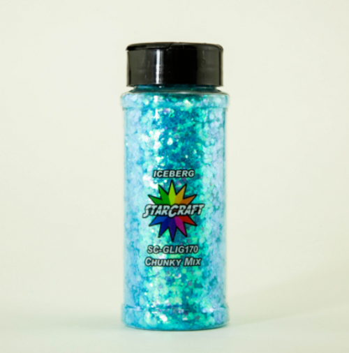 Glitter - Chunky - Iceberg