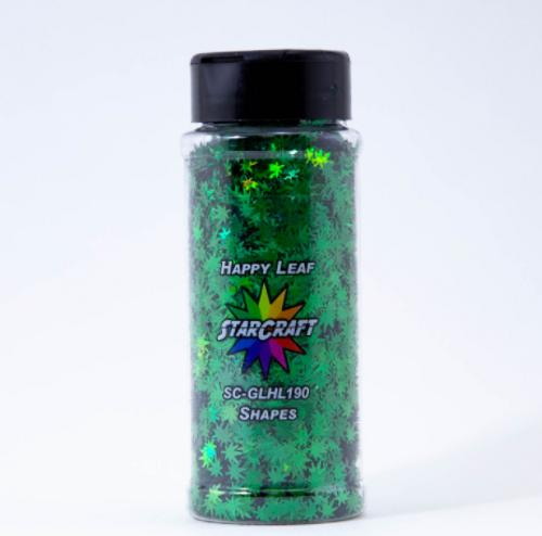 Glitter - Chunky - Happy Leaf