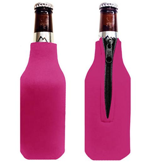 Hot Pink - Bottle Cooler