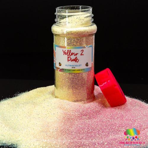 Yellow 2 Pink - The Glitter Guy