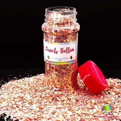Peach Bellini - The Glitter Guy