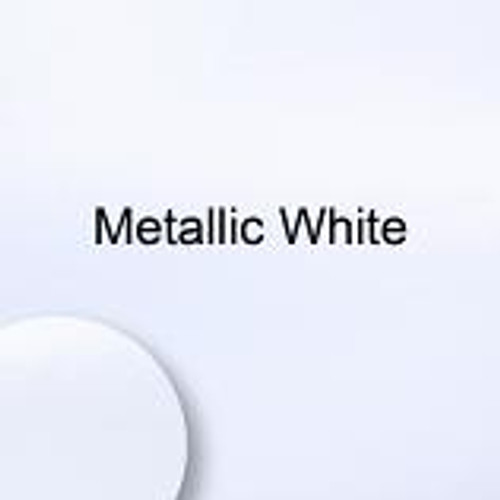 "Starcraft HD Matte - Metallic White - 12"" x 12"" sheet"