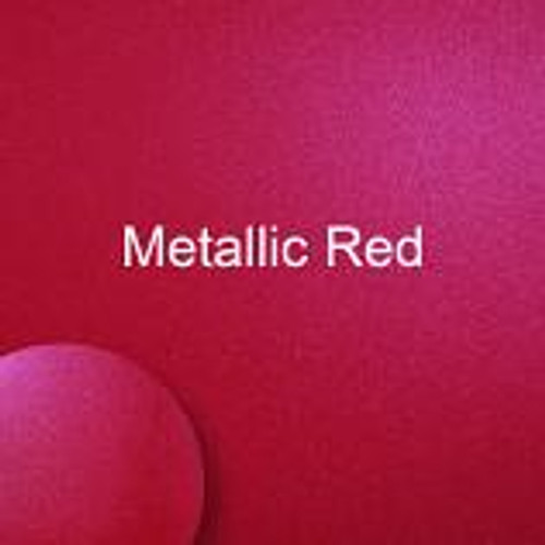 "Starcraft HD Matte - Metallic Red - 12"" x 12"" sheet"