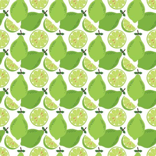"Printed Pattern - Limes - 12"" x 12"" - Permanent Adhesive Vinyl"
