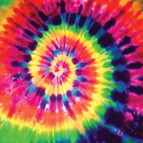 """Printed Pattern - Tie Dye #1 - 12"""" x 12"""" - Permanent Adhesive Vinyl"""