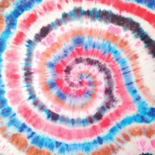 """Printed Pattern - Tie Dye #2 - 12"""" x 12"""" - Permanent Adhesive Vinyl"""