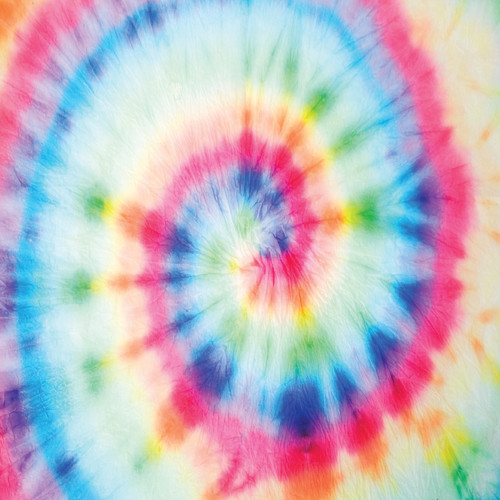 "Printed Pattern - Tie Dye #4 - 12"" x 12"" - Heat Transfer Vinyl"