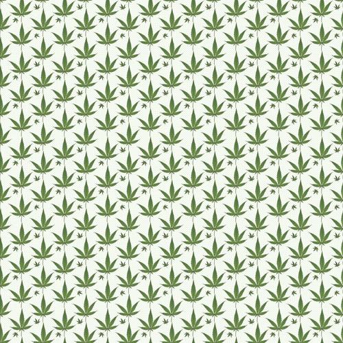 """Printed Pattern - Weed #2 - 12"""" x 12"""" - Heat Transfer Vinyl"""
