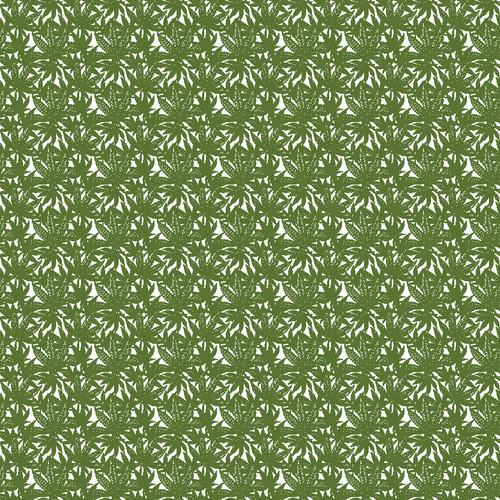 """Printed Pattern - Weed #3 - 12"""" x 12"""" - Heat Transfer Vinyl"""