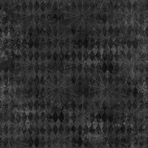 """Printed Pattern - Vintage Halloween 020 - 12"""" x 12"""" - Permanent Adhesive Vinyl"""