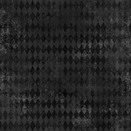 """Printed Pattern - Vintage Halloween 022 - 12"""" x 12"""" - Permanent Adhesive Vinyl"""