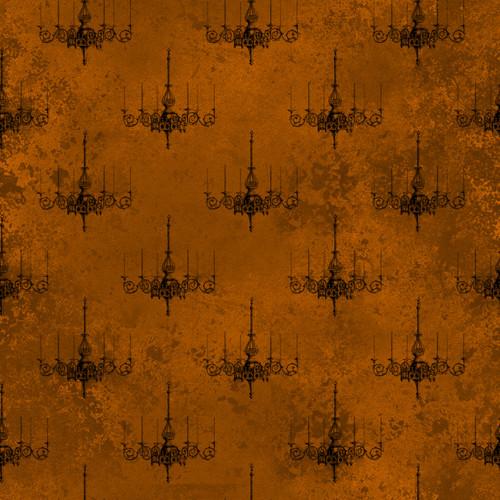 """Printed Pattern - Vintage Halloween 004 - 12"""" x 12"""" - Heat Transfer Vinyl"""