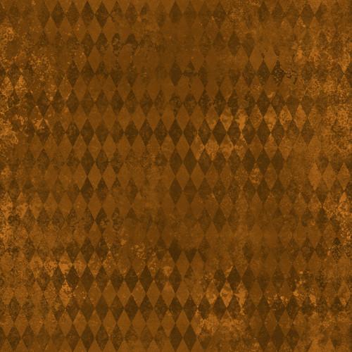 """Printed Pattern - Vintage Halloween 021 - 12"""" x 12"""" - Heat Transfer Vinyl"""