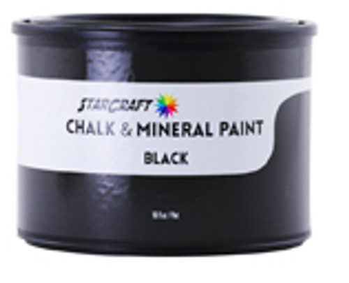 StarCraft Chalk Paint - Black - 16oz Pint
