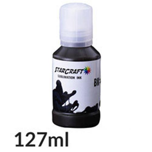 Starcraft Sublimation Ink - 127mL bottle - Black