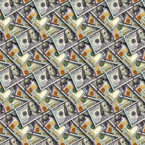 "Printed Pattern - Money - 12"" x 12"" - Heat Transfer Vinyl"