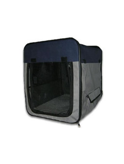 Portable Canvas Pet Crate