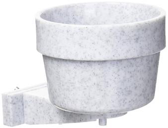 Pet cargo crate bowl plastic