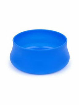 Squishy Pet Travel Bowl Blue