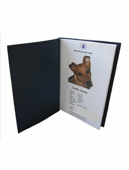 Medical Pet Passport Record Inside